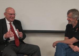 Joe Harkins and Rex Buchanan, Kansas