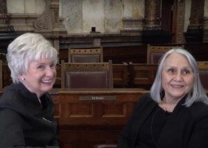 Audrey Langworthy and Nancy Parrish, Kansas